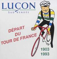 Tour de France 1993 de passage à Luçon